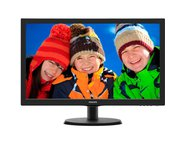 Monitor LED PHILIPS 223V5LSB2/10, 21.5 inch, Negru