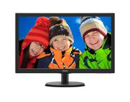 Monitor Led PHILIPS 223V5LHSB2/00, 21.5 inch, Negru