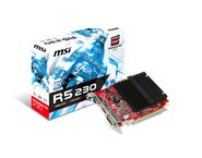Placa video MSI RADEON R5 230, 1 GB GDDR3, 64 biti